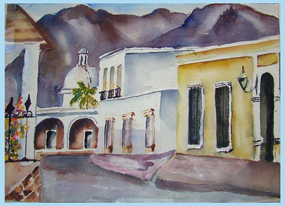 Bengta's Alamos Painting