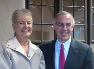 With David Brooks at the Carmel Authors & Ideas Festival