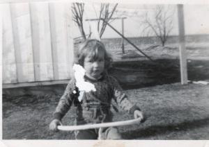 Patricia Hamilton, age 4.